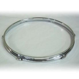 WorldMax 14 6 Lug 2.3mm Snare Side Hoop; Chrome
