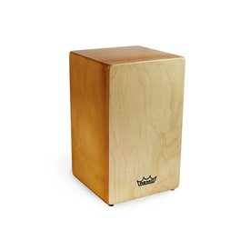 Remo Remo Cajon w/ Six Removable Coil Springs; Natural Finish