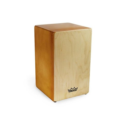 Remo Cajon w/ Six Removable Coil Springs; Natural Finish