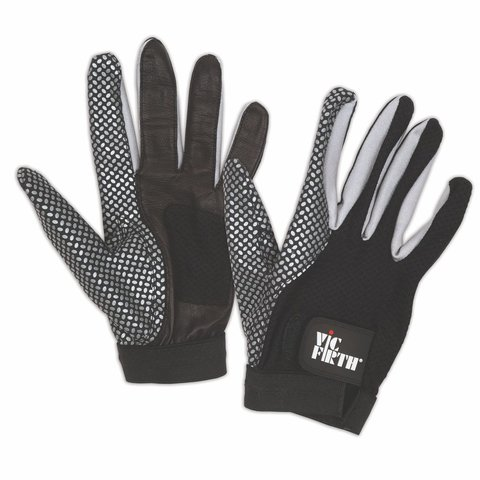 Vic Firth Drumming Glove, Medium - Enhanced Grip and Ventilated Palm