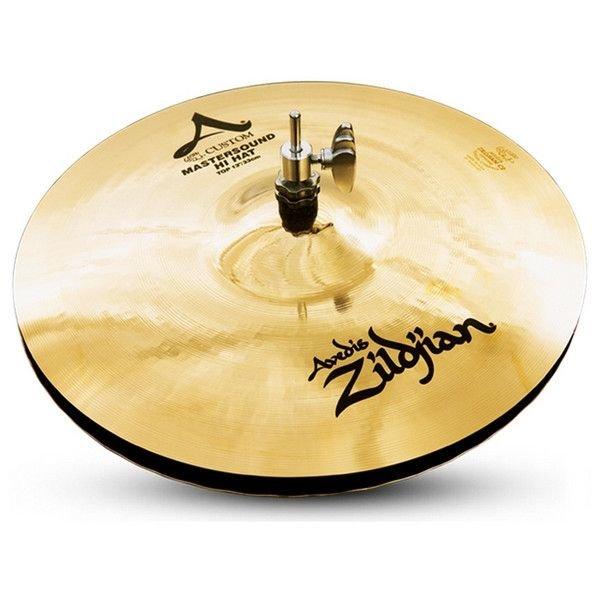 "Zildjian A Custom 13"" Mastersound Hi Hat Cymbals"