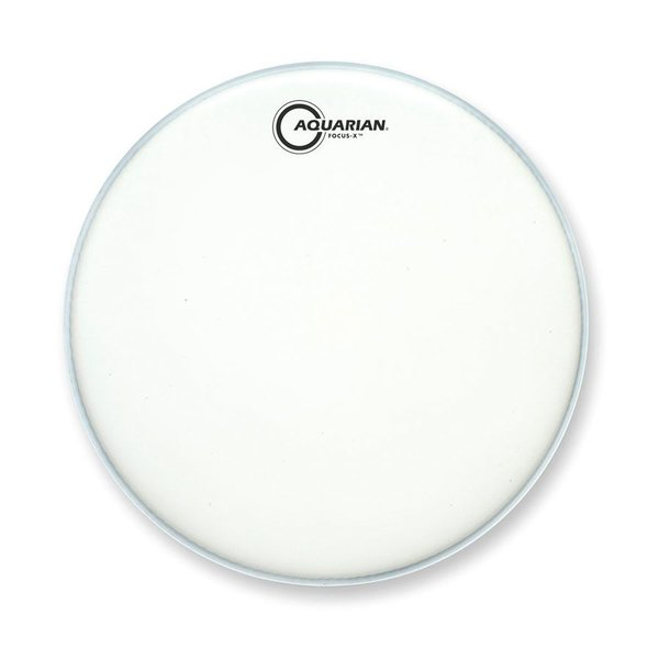 "Aquarian Aquarian Focus-X Texture Coated 14"" Drumhead - White"