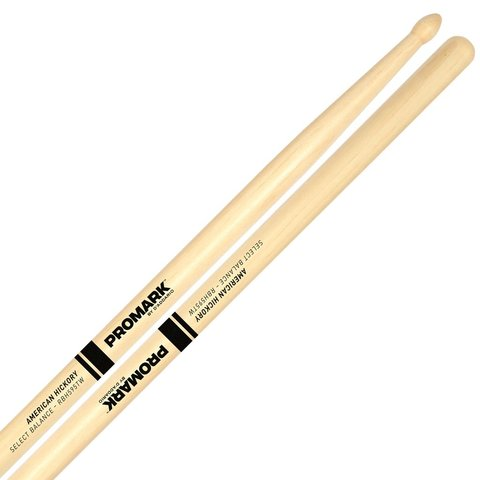"Promark Select Balance Rebound 5B .595"" TD Wood Drumsticks"