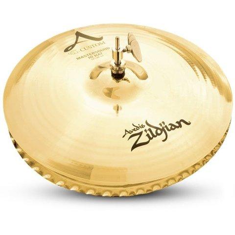 """Zildjian 15"""" A Custom Mastersound Pair HiHat"""