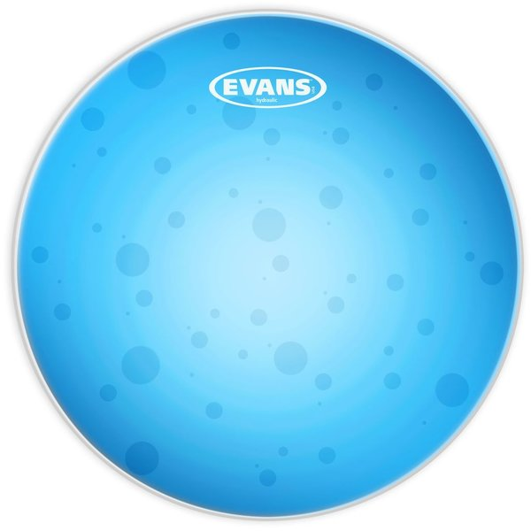 """Evans Evans Hydraulic Blue 8"""" Tom Drumhead"""