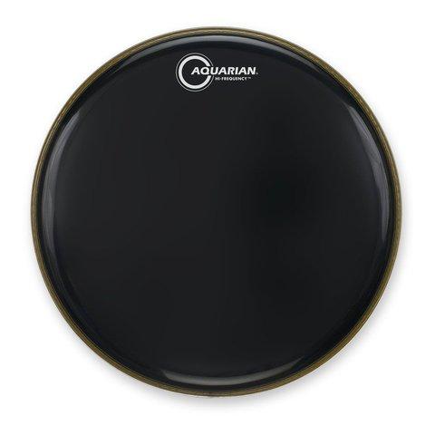 "Aquarian Hi-Frequency Series 16"" Thin Drumhead - Black"