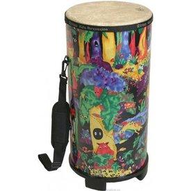 Remo Remo Kids Percussion 10 Diameter 22 Height Tubano - Rain Forest Fabric