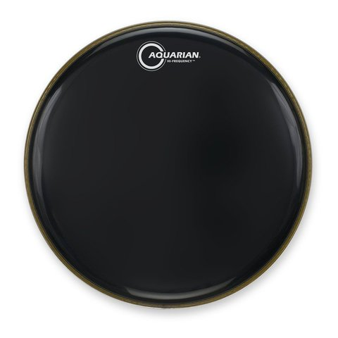 "Aquarian Hi-Frequency Series 12"" Thin Drumhead - Black"