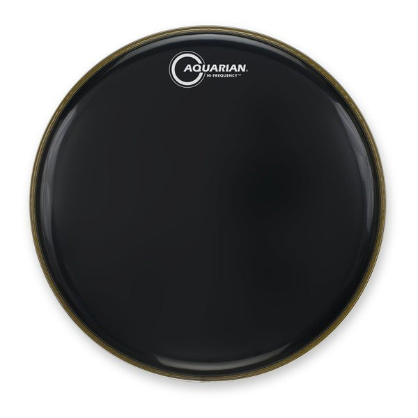 "Aquarian Aquarian Hi-Frequency Series 12"" Thin Drumhead - Black"