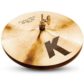 "Zildjian K Custom 13"" Dark Hi Hat Cymbals"