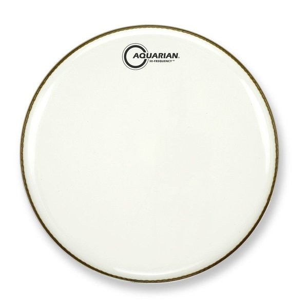 "Aquarian Aquarian Hi-Frequency Series 16"" Thin Drumhead - White"