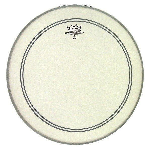 "Remo Remo Coated Powerstroke 3 15"" Diameter Batter Drumhead"