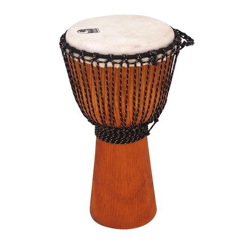 Toca 10 Stage Series Djembe, Natural w/Bag