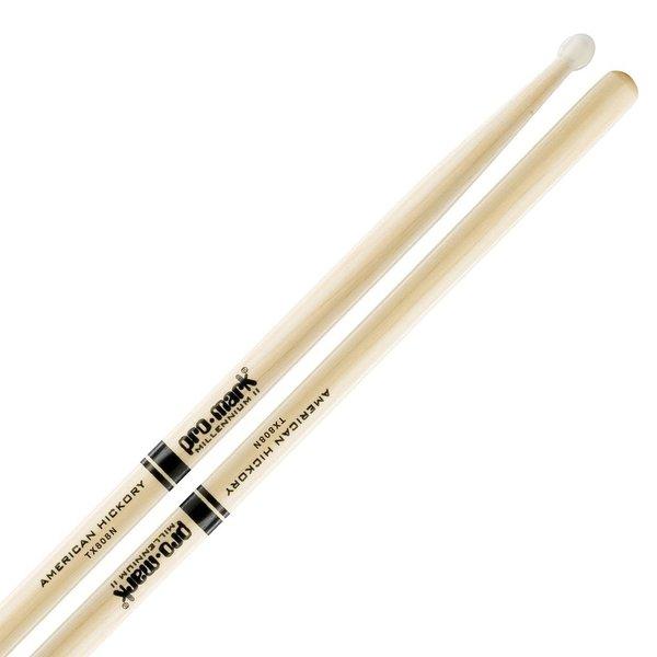 Promark Hickory 808 Nylon Tip Drumsticks
