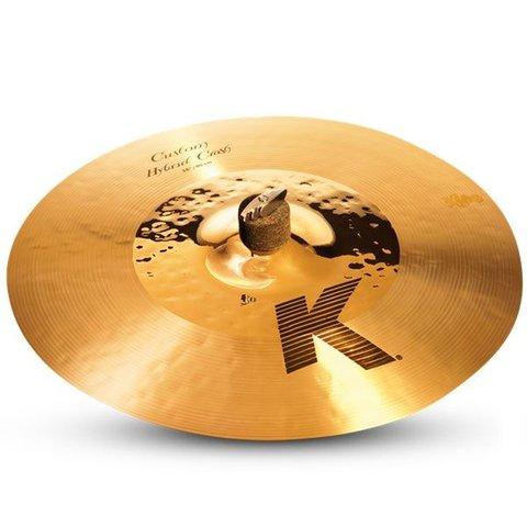 "Zildjian K Custom 16"" Hybrid Crash Cymbal"