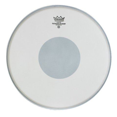 "Remo Coated Controlled Sound 13"" Diameter Batter Drumhead - Black Dot on Bottom"
