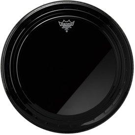 "Remo Remo Ebony Powerstroke Pro 20"" Diameter Bass Drumhead"