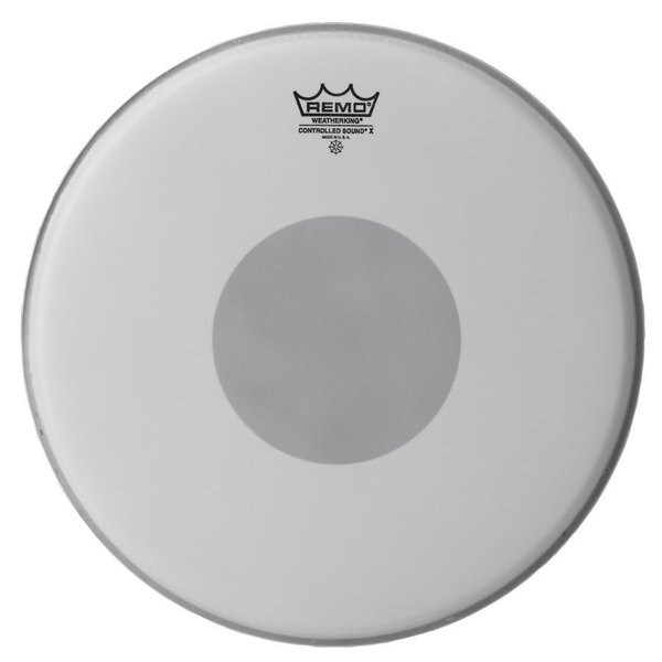 "Remo Remo Coated Controlled Sound x 10"" Diameter Batter Drumhead - Black Dot on Bottom"