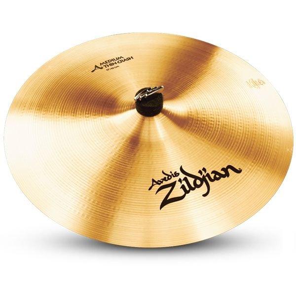 "Zildjian A Series 18"" Medium Thin Crash Cymbal"