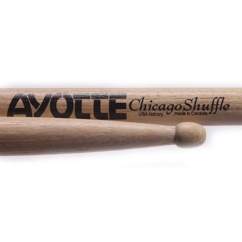 Ayotte Chicago Shuffle Hickory Wood Tip drumsticks