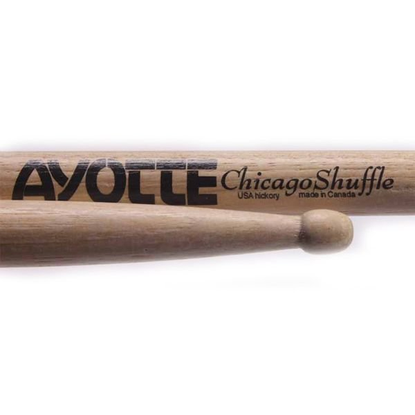 Ayotte Ayotte Chicago Shuffle Hickory Wood Tip drumsticks