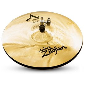 "Zildjian A Custom 13"" Hi Hat Cymbals Brilliant"