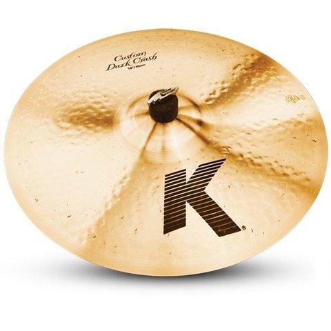 "Zildjian K Custom 18"" Dark Crash Cymbal"