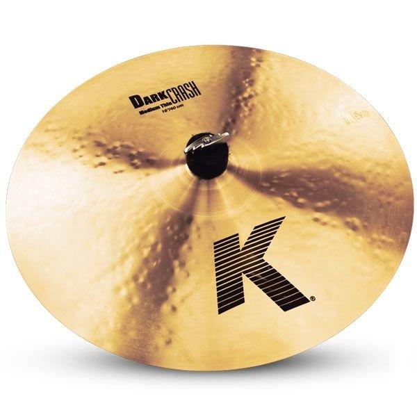 "Zildjian K Series 16"" Dark Medium Thin Crash Cymbal"