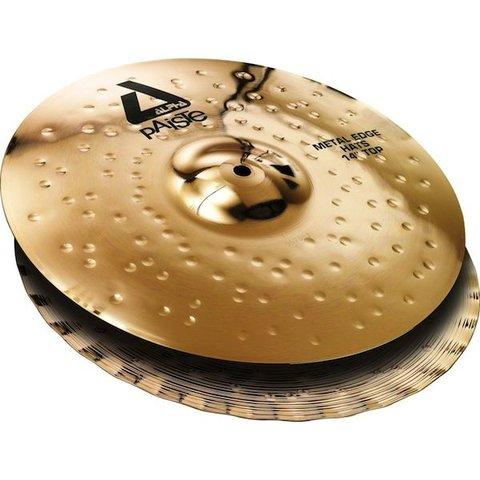 "Paiste Alpha 14"" 'B' Metal Edge Hats Cymbals"