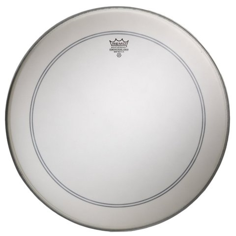 "Remo Coated Powerstroke 3 22"" Diameter Bass Drumhead"