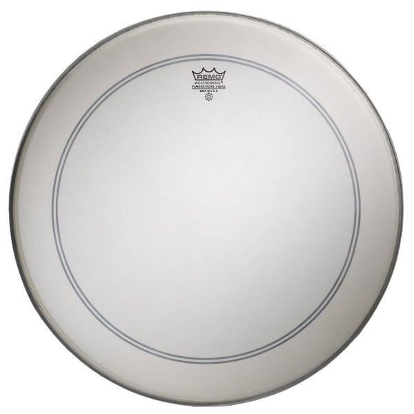 "Remo Remo Coated Powerstroke 3 22"" Diameter Bass Drumhead"