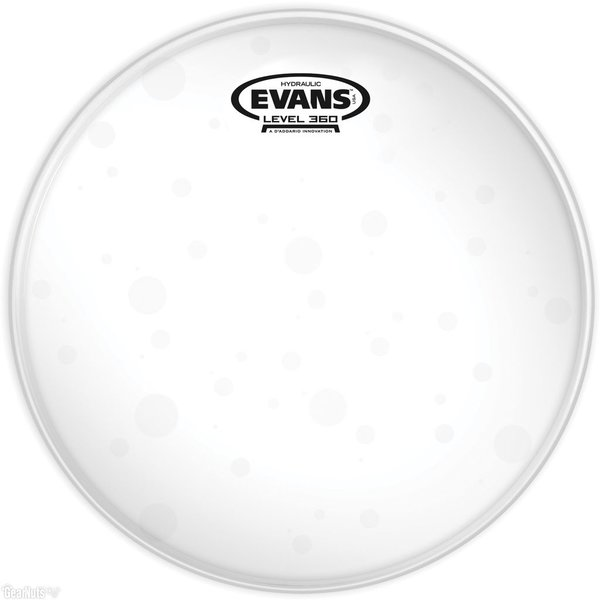 "Evans Evans Hydraulic Glass 10"" Tom Drumhead"