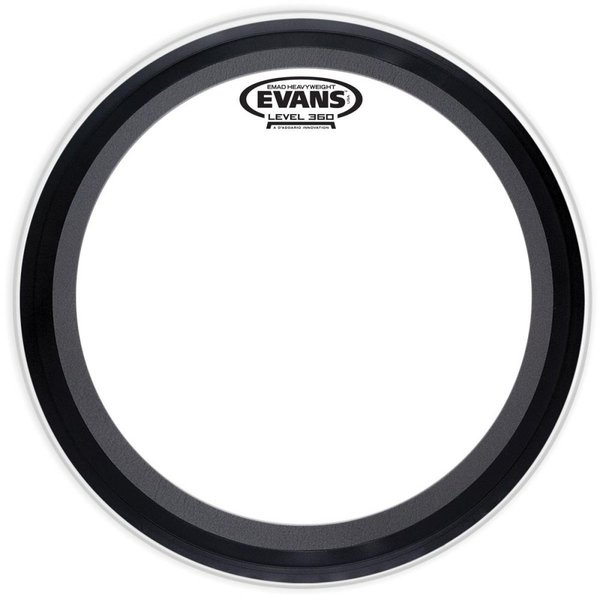 "Evans Evans EMAD Heavyweight 20"" Bass Batter Drumhead"