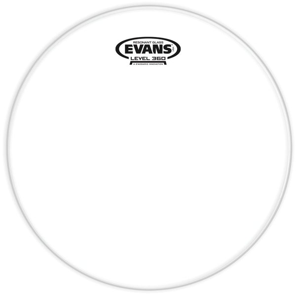 "Evans Evans Resonant Glass 14"" Tom Drumhead"