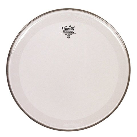 "Remo Clear Powerstroke 4 15"" Diameter Batter Drumhead"