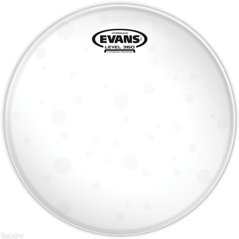 "Evans Hydraulic Glass 12"" Tom Drumhead"