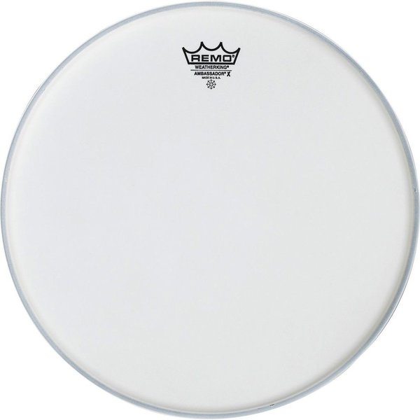 "Remo Remo Coated Ambassador X 8"" Diameter Batter Drumhead"