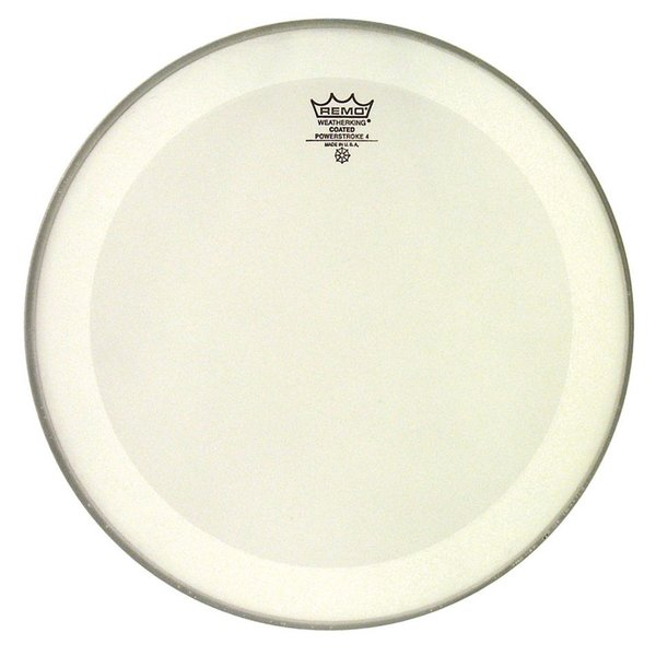 "Remo Remo Coated Powerstroke 4 14"" Diameter Batter Drumhead"