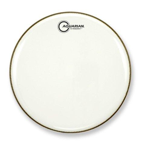 """Aquarian Hi-Frequency Series 14"""" Thin Drumhead - White"""