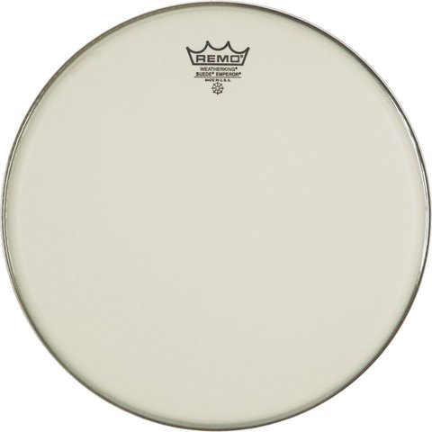 """Remo Suede Emperor 15"""" Diameter Batter Drumhead"""
