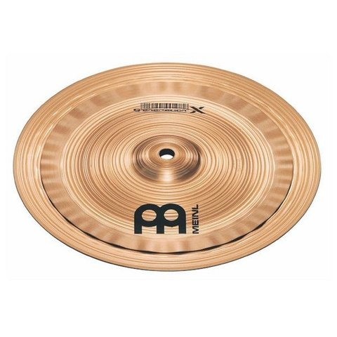 "Meinl Generation X 8""/10"" Electro Stack Cymbal"