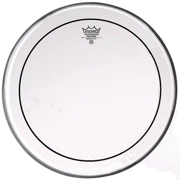 "Remo Remo Clear Pinstripe 18"" Diameter Batter Drumhead"