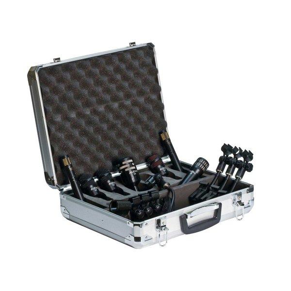 Audix DP7 Drum Microphone Pack; Includes Aluminum Flight Case