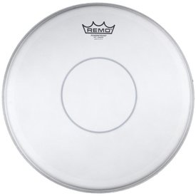 "Remo Remo Coated Powerstroke 77 14"" Diameter Batter Drumhead - Clear Dot"