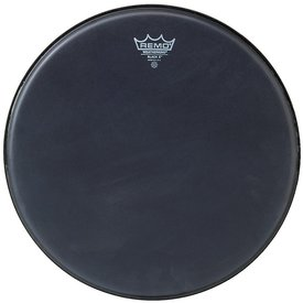 "Remo Remo Black x 10"" Diameter Batter Drumhead - Black Dot Bottom"