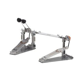 Pearl Pearl Demonator Series Single-Chain Drive Double Bass Drum Pedal with Demon Style Long Footboard - Lefty