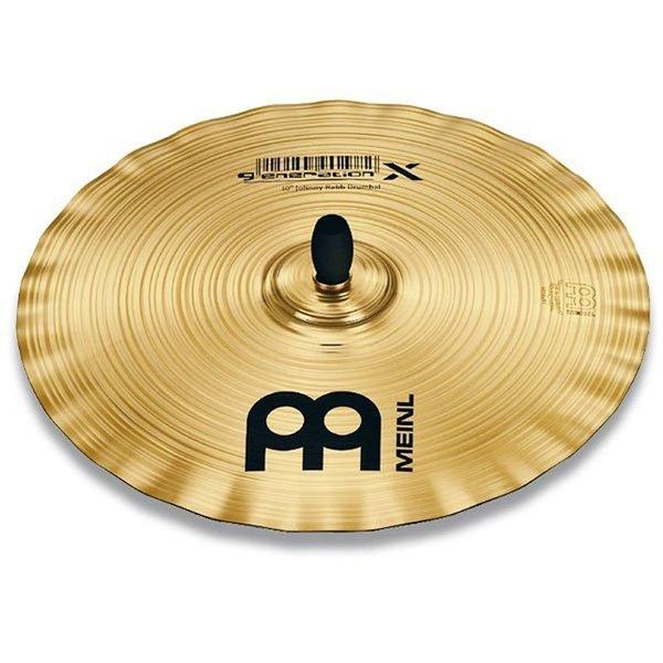 """Meinl Meinl Generation X 10"""" Johnny Rabb Drumbal Cymbal"""