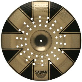 """Sabian Sabian AA 19"""" Brilliant Holy China Cymbal Limited Edition with Red Hot Chili Peppers Graphic and Bag Included"""