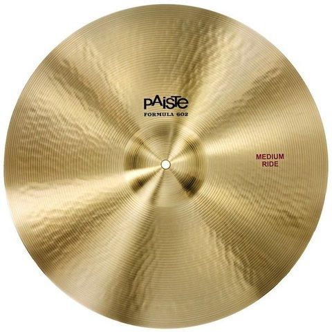 "Paiste Formula 602 24"" Medium Ride Cymbal"