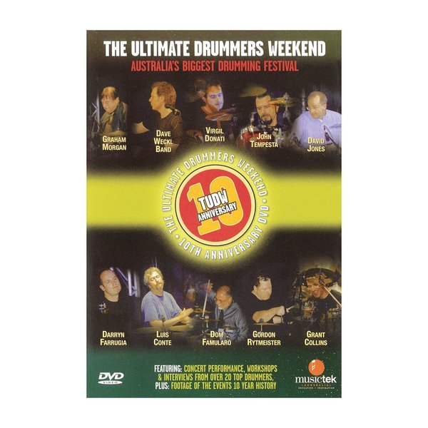 Hal Leonard The Ultimate Drummer's Weekend 10th Anniversary DVD
